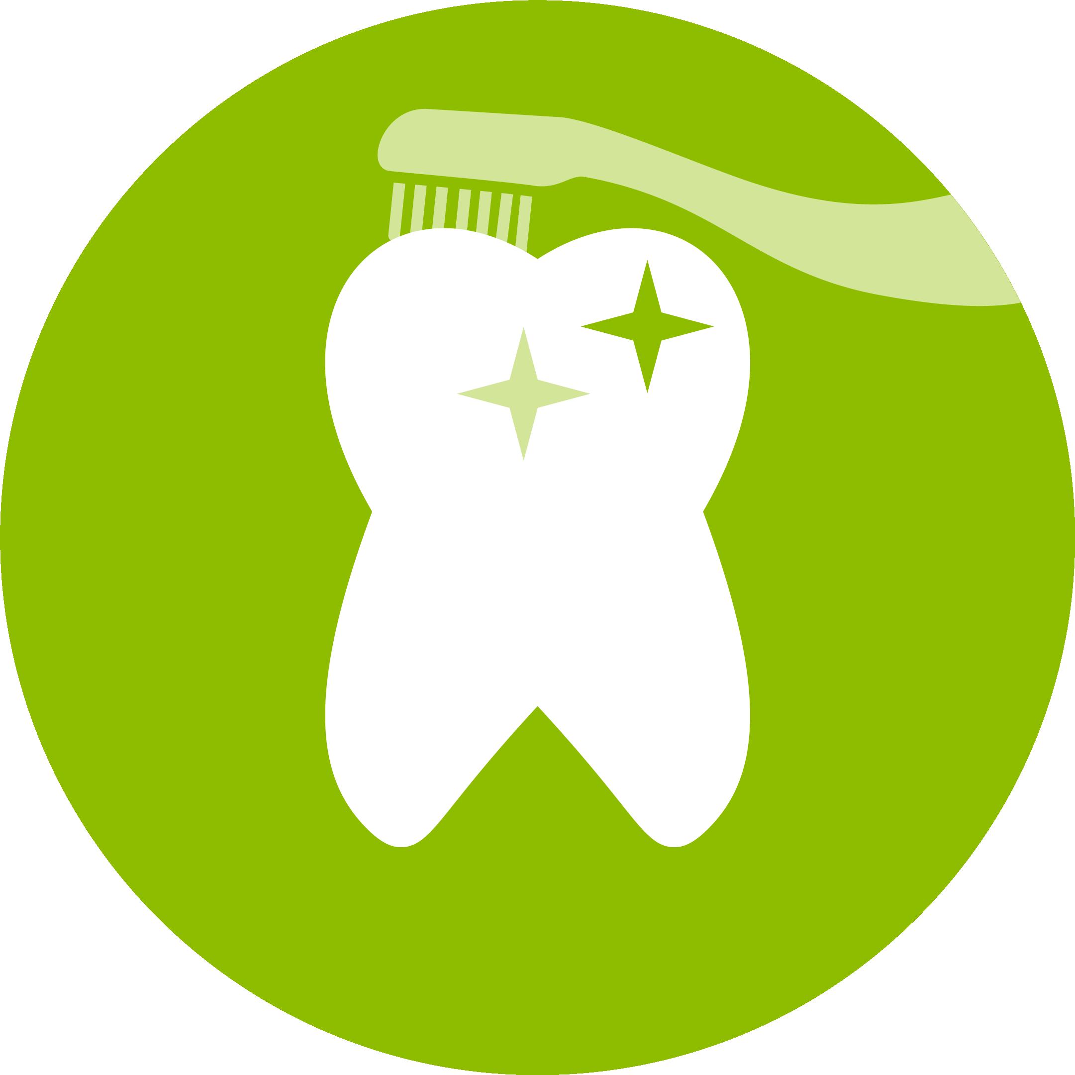 Icon für Professionelle  Zahnreinigung
